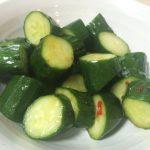 【時短レシピ】たたききゅうりは3分で手軽に作れてダイエットにも◎